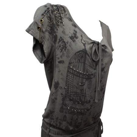birdcage tunic bodice
