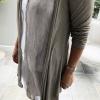 Beige fine cardigan (detail)